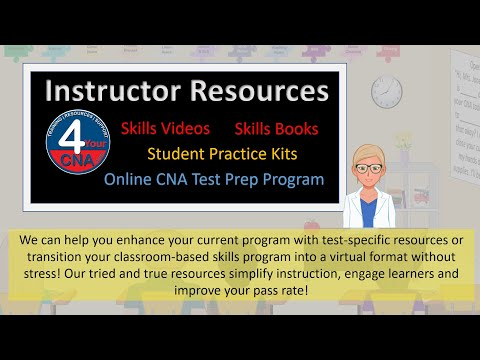 CNA Instructors - Do you need to take your CNA Program ONLINE?