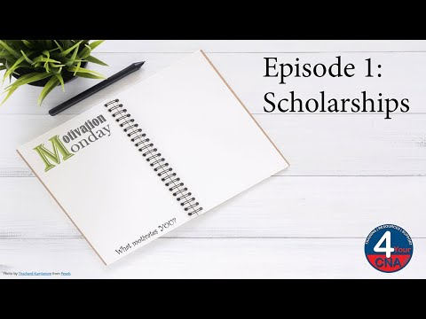 Motivation Monday: Scholarships