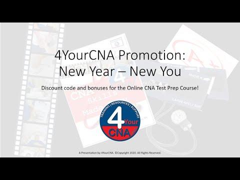 Get $20 off the Online CNA Test Prep Course PLUS a BONUS!