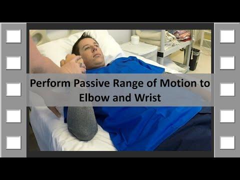ROM Elbow and Wrist CNA SKill NEW