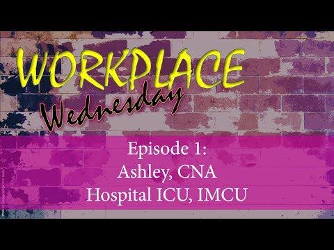 Workplace Wednesday: Ashley, ICU/IMCU