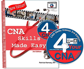 CNA skills made easy book and dvd