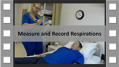 Measure and Record Respirations