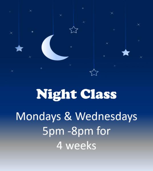Class graphic night