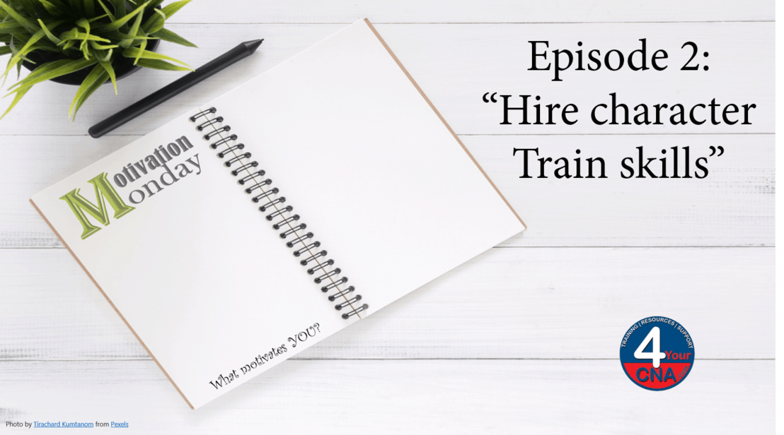 Episode 2: Hire Character